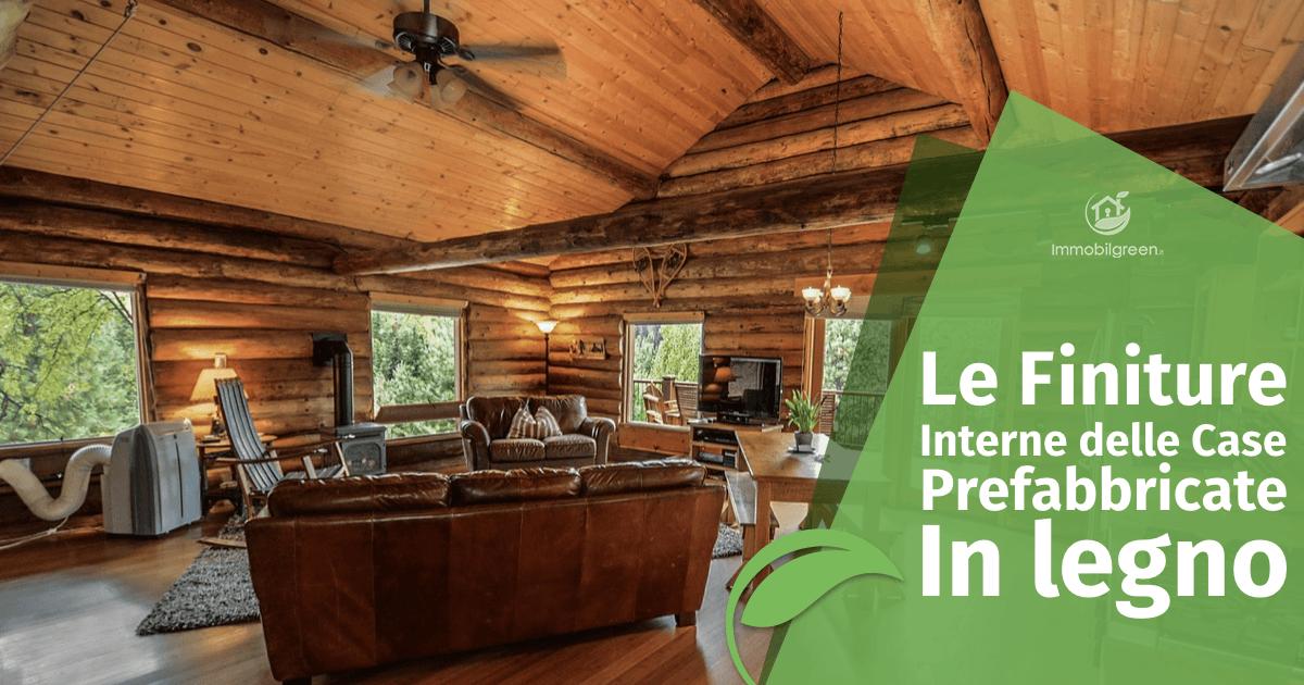 finiture interne case prefabbricate legno