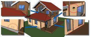 Guida alle case in legno - Punti critici acqua