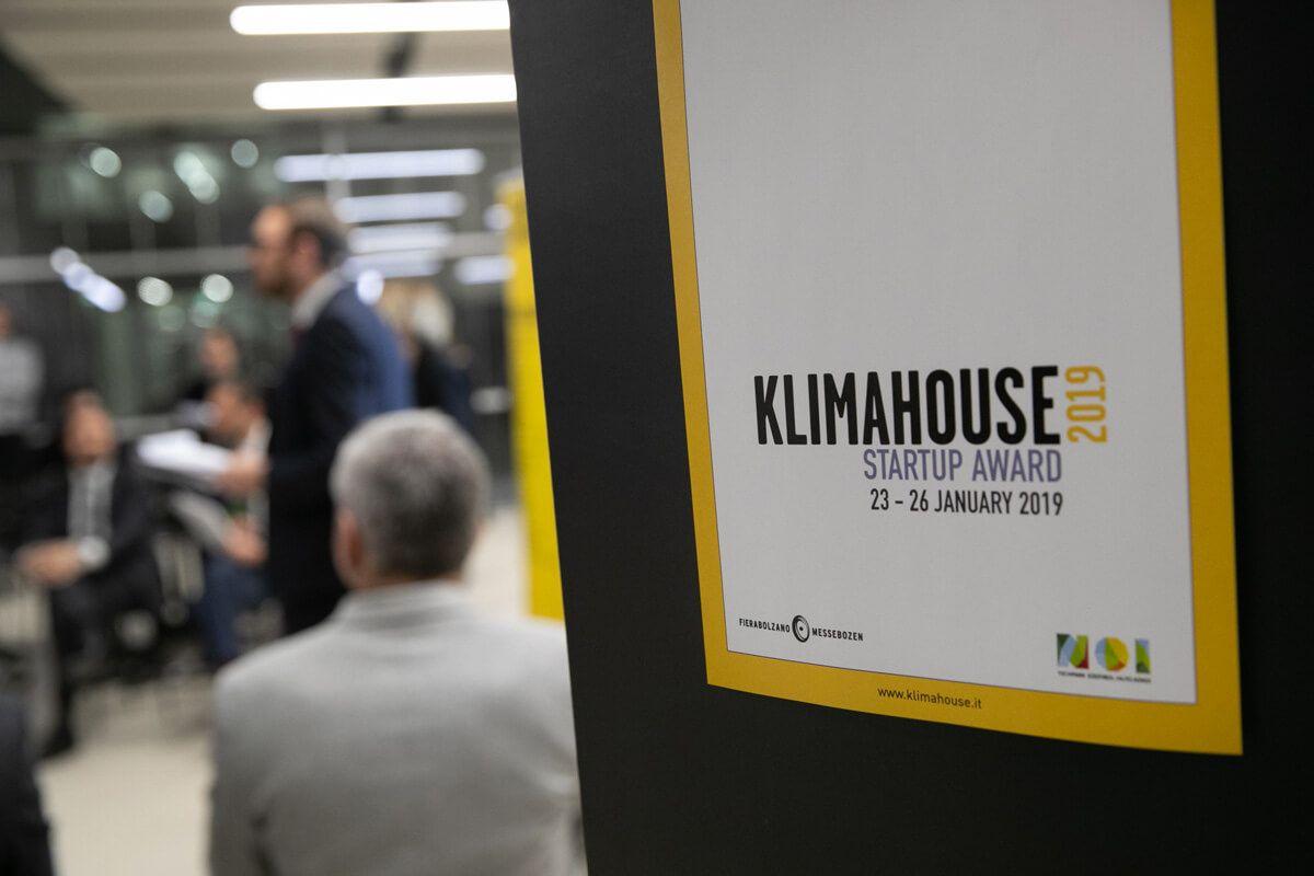 Klimahouse Startup Award 2019
