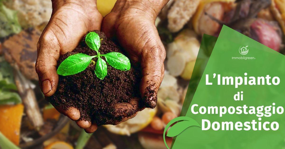 Impianto di compostaggio domestico