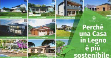 Perché una casa in legno è più sostenibile?