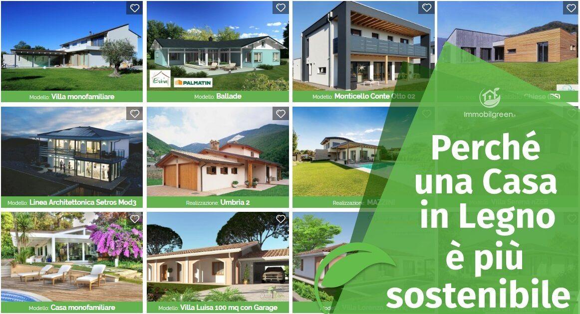 Perché una Casa in Legno è più sostenibile