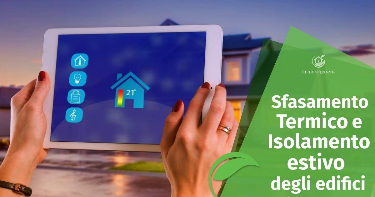 Sfasamento termico e isolamento estivo degli edifici