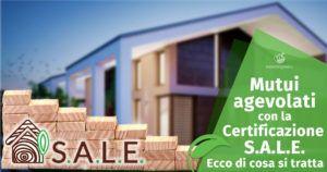 Mutui agevolati per la tua Casa in Legno con la certificazione S.A.L.E.