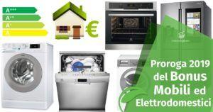 Il Bonus Mobili ed Elettrodomestici 2019