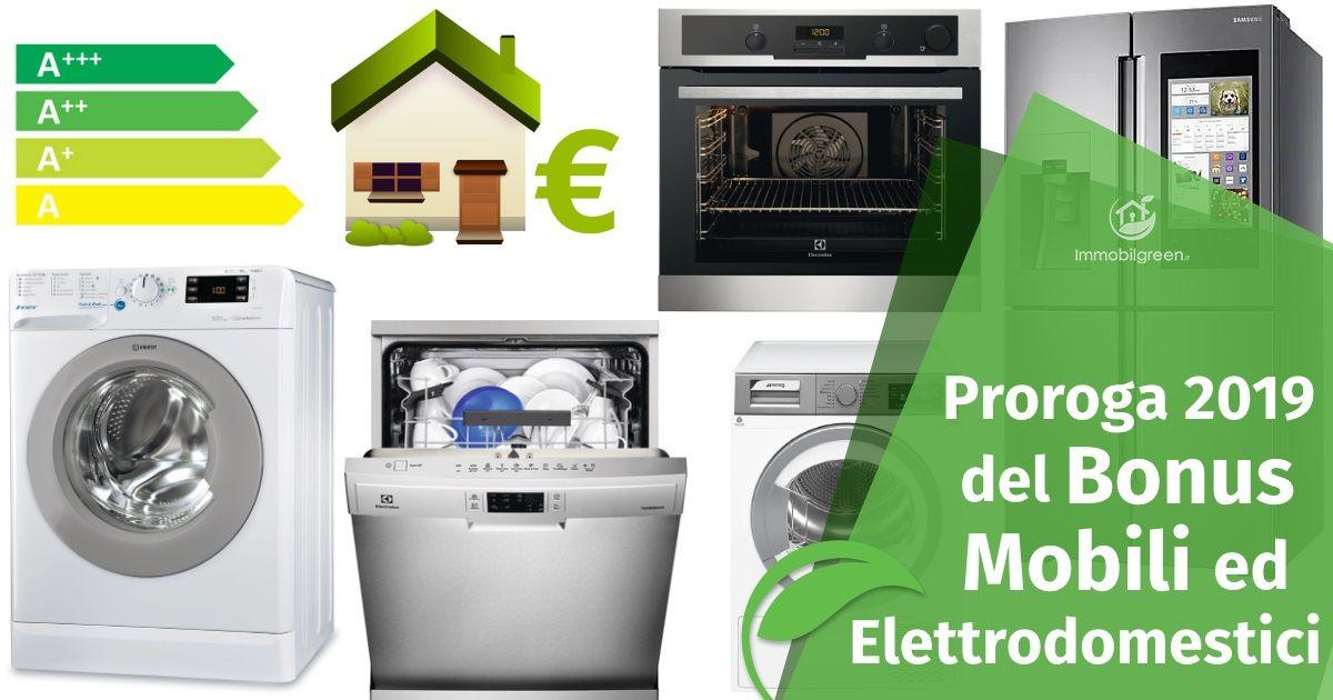 Il Bonus Mobili ed Elettrodomestici 2019, una detrazione del 50%