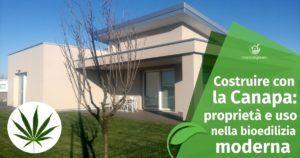 Costruire con la Canapa: proprietà e uso nella bioedilizia moderna