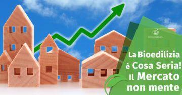 Bioedilizia in crescita in Italia: il Mercato delle Case in Legno non mente
