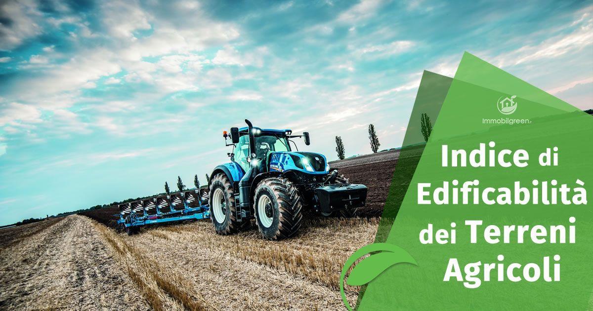 Indice di edificabilità dei Terreni Agricoli