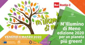 M'Illimumino di Meno edizione 2020: per un pianeta più green!