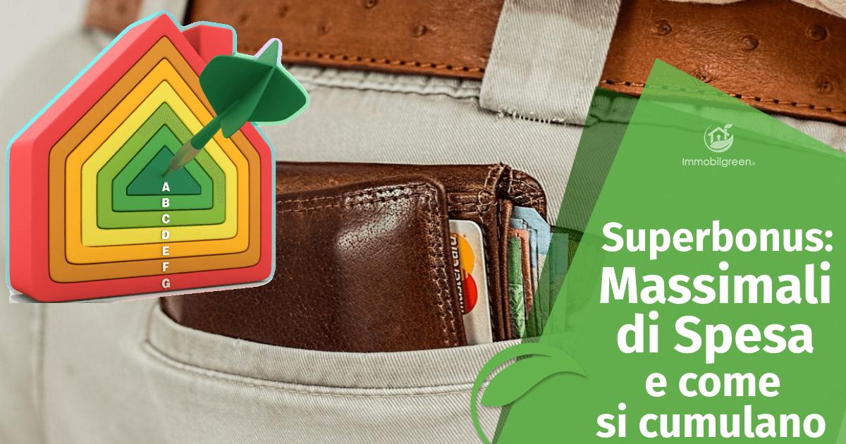 Superbonus 110€: quali sono i massimali di spese e come si cumulano tra loro