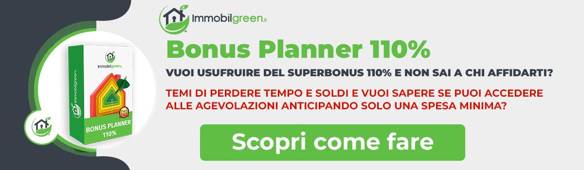 Bonus Planner 110% Immobilgreen