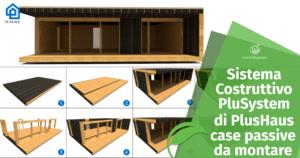 Case in Legno passive: Sistema Costruttivo PluSystem di PlusHaus