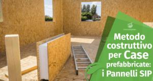 Metodo costruttivo per case prefabbricate: i pannelli SIP