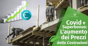 Covid e Superbonus: l'aumento dei Prezzi delle Costruzioni